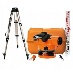 Pack-niveau-optique-de-chantier-AL32-+-trépied-alu-+-MIre-alu-4m-101097-301100-311005-20