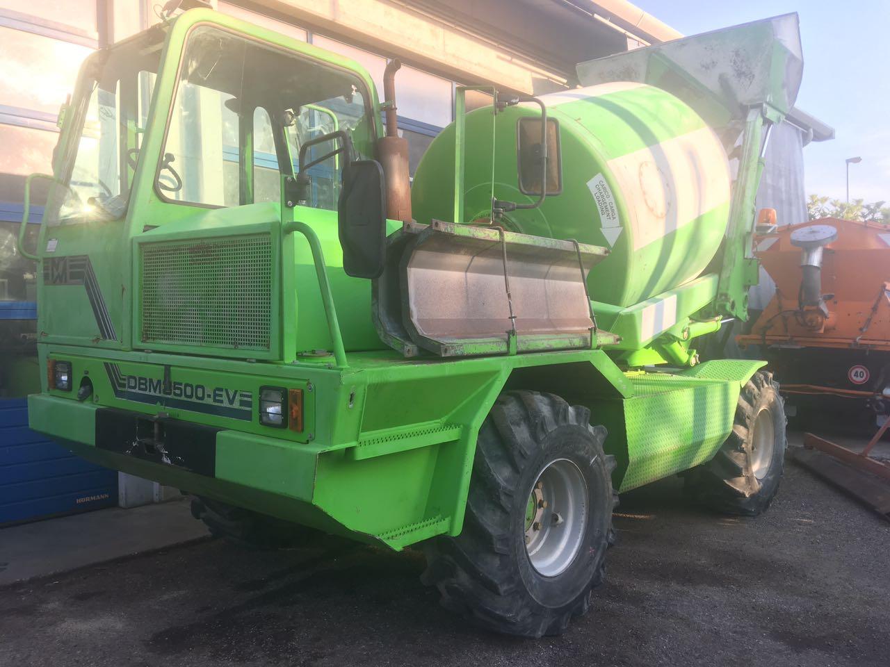 Acquisition d'une nouveau camion bétonnière Merlo DBM 3500